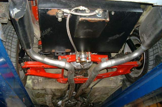 73botiz's fuel cell and exhaust