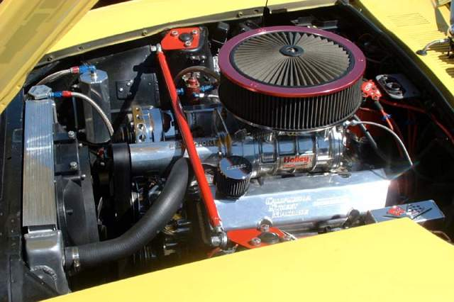 355cid v8 with a roots blower