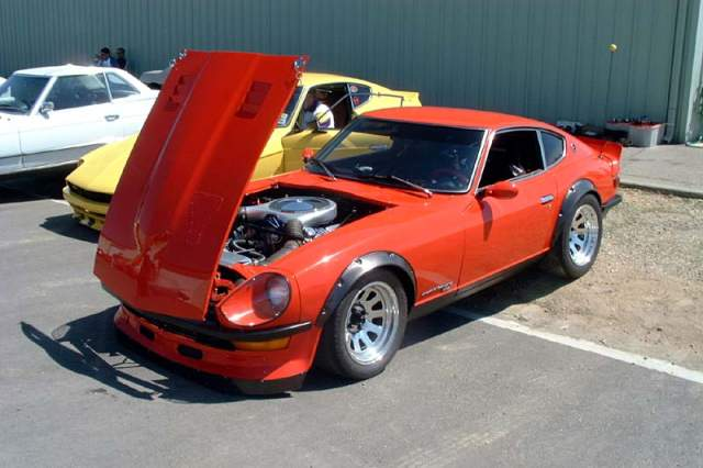 Jumbo240ez's ford 5.0 powered Z